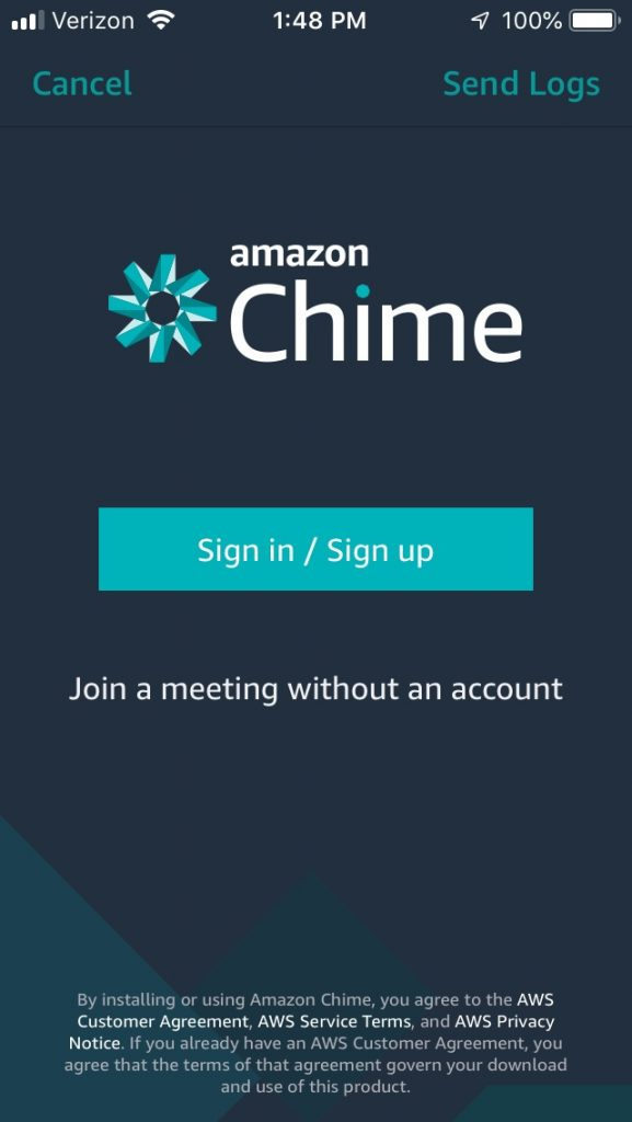 Join a meeting without an account